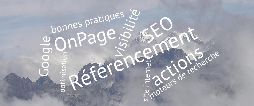 SEO 2 – Les actions de référencement «OnPage»