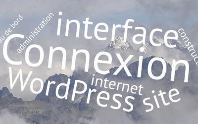 WordPress : se connecter à l'interface de gestion