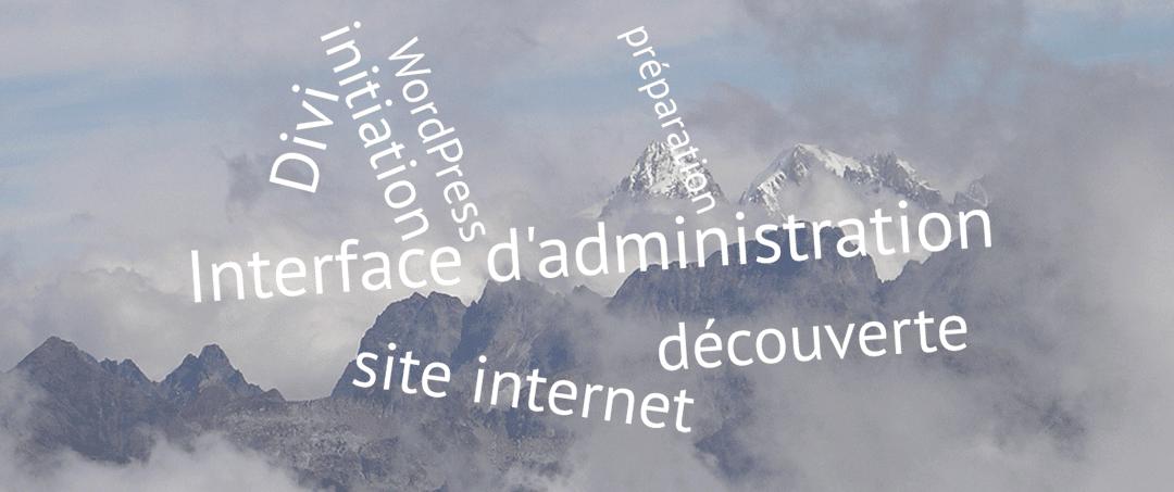 Découvrez votre interface WordPress – Divi