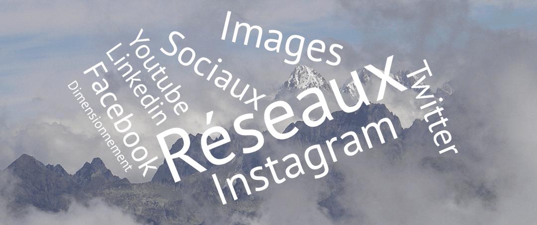 Dimensionnez vos images pour les réseaux sociaux