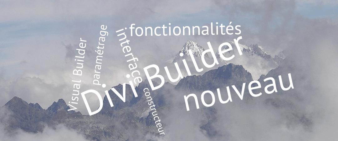 Le nouveau Divi Builder